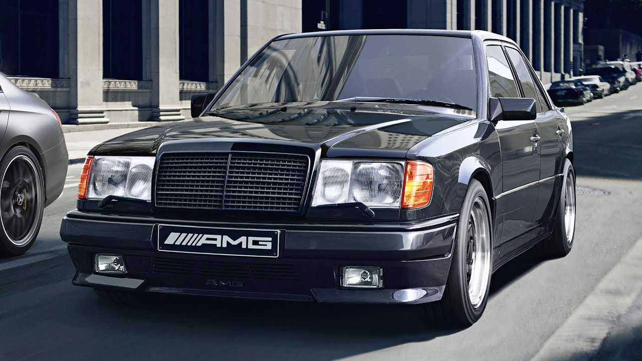 W124 e 300 5 6 amg hammer youtube for Mercedes benz w124 amg