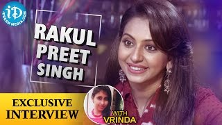 Bruce lee movie || rakul preet singh exclusive interview || talking movies with idream #25