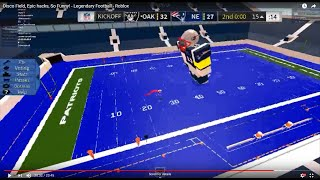Disco Field, Admin commands, So Funny😂! - 🏈Legendary Football🏈 - Roblox