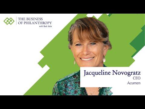 Jacqueline Novogratz; A Conversation with Badr Jafar