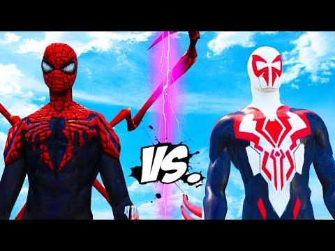SUPERIOR SPIDER-MAN VS SPIDERMAN 2099 - EPIC BATTLE