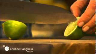Papaya With Coriander And Lime - Annabel Langbein, The Free Range Cook Series One
