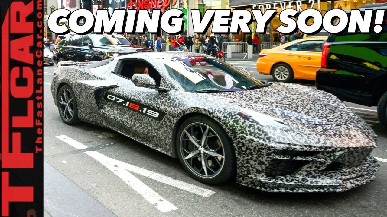 Breaking News Its Official C8 Chevy Corvette Confirmed