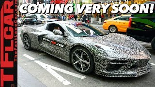 Breaking News: It's Official! C8 Chevy Corvette Confirmed   Here is What We Know
