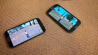 Samsung Galaxy S3 vs S4 GTA San Andreas