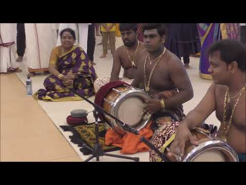 Nadeswaram & Thavil  By PSB Balamurgan  Group At Sydney Murugan Temple