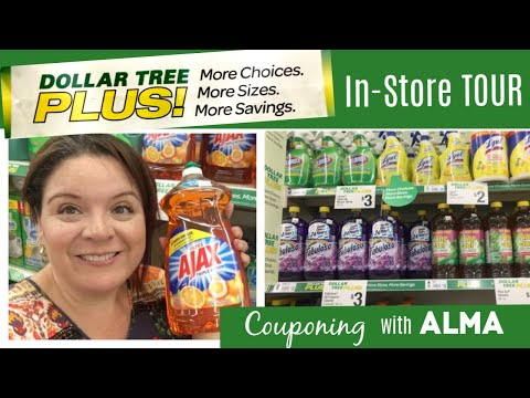 NEW Dollar Tree PLUS In-Store Tour, More Choices, More Sizes, More Savings!