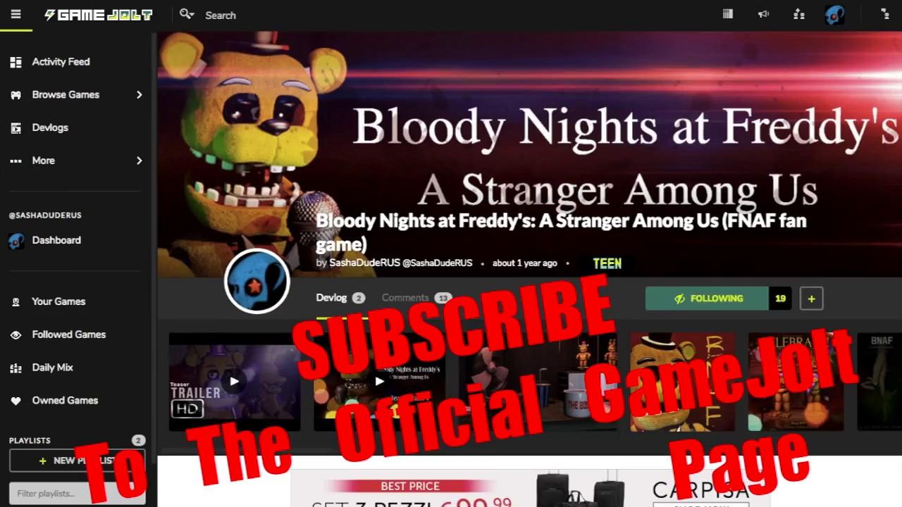 Five Nights At Freddy S 4 Simulator Game Jolt | Gameswalls org
