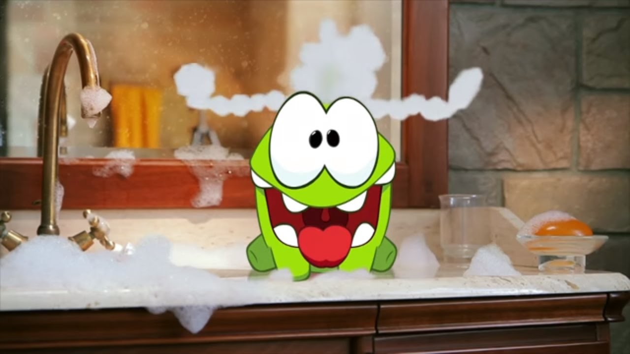Om Nom Stories (Cut the Rope) - Bath Time (Episode 2, Cut the Rope)
