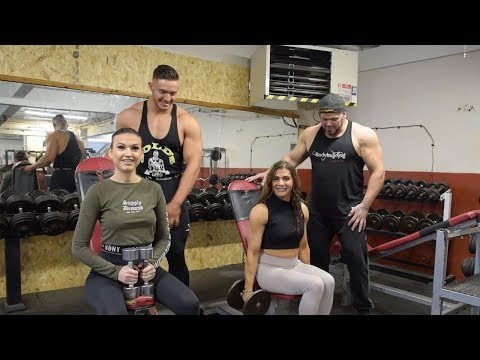 Beauty Pageant Winner Thanks Body Building Family
