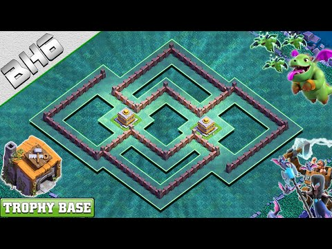BEST! BH6 Base 2019 | Builder Hall 6 Trophy Base With COPY LINK - Clash Of Clans