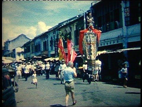 Kuala Lumpur 1958 Chinese New Year - YouTube