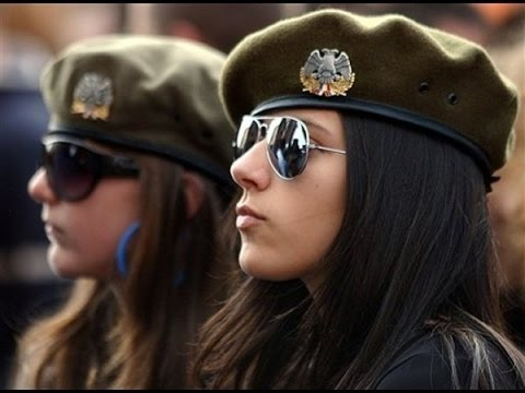 World's Beautiful Female Soldiers in Russian Military - Docu