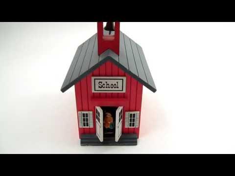 vintage berkeley schoolhouse music box