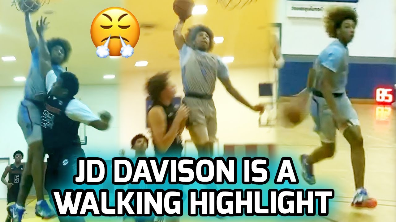 #1 Ranked Player In Alabama JD Davison GETS LOOSE In First AAU Action! Best Passer In Nation!? 🔥