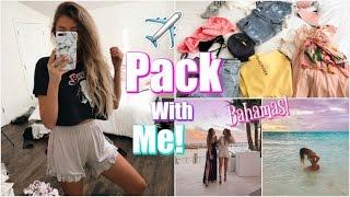 Pack With Me // Bahamas Spring Break + Haul!
