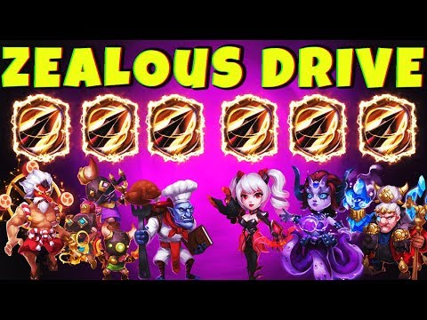 THE ZEALOUS DRIVE TEAM | Full Gameplay | CASTLE CLASH