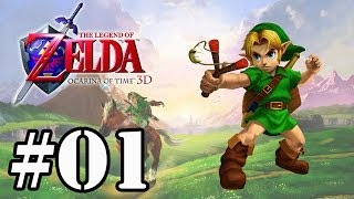 Let's Play : Zelda Ocarina of Time 3D - Parte 1