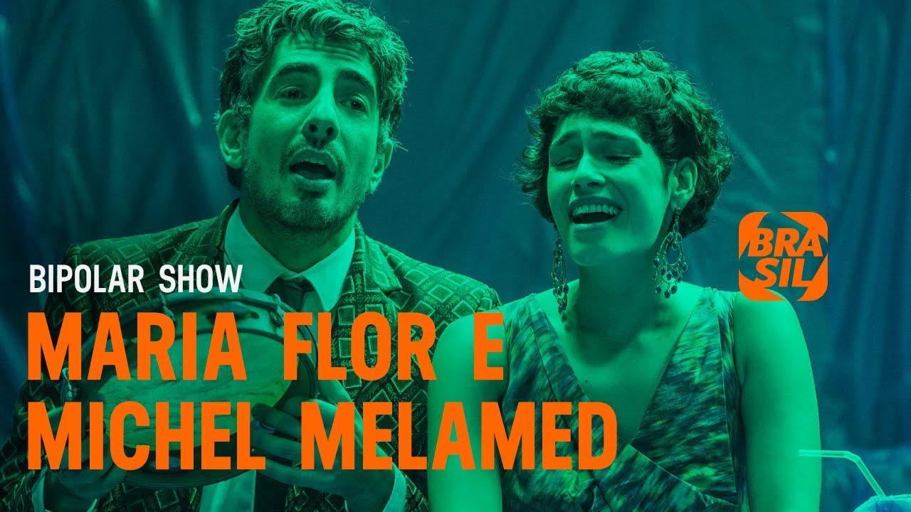 Maria Flor e Michel Melamed