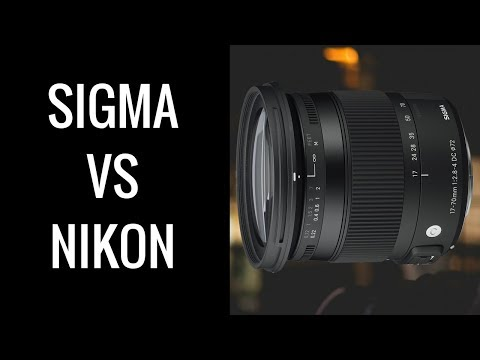 Sigma 17-70 MACRO vs Nikon 18-55 Kit Lens - Is the Sigma 17-70 a WORTHWHILE Upgrade?