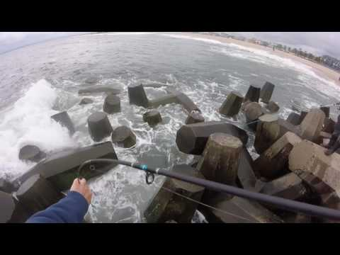 Fishing The Manasquan Inlet NJ Off The Rocks