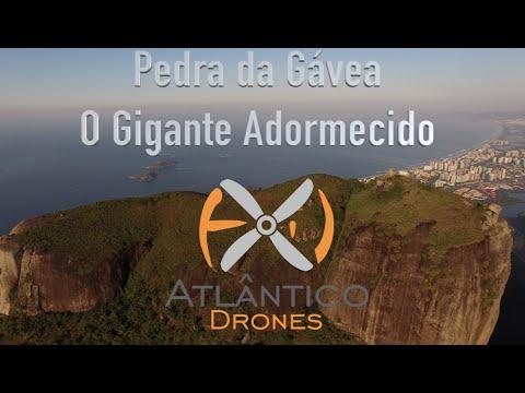 Pedra da Gávea Drone - Rio de Janeiro