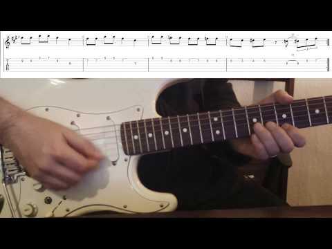 Blues-Rock-Lick in A | Einfach geiler Gitarre spielen!