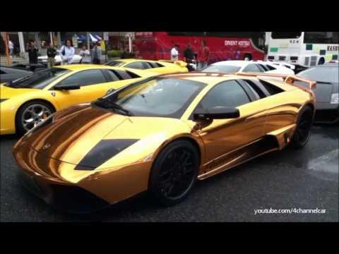 Lamborghini Murciélago LP640 GOLD - YouTube
