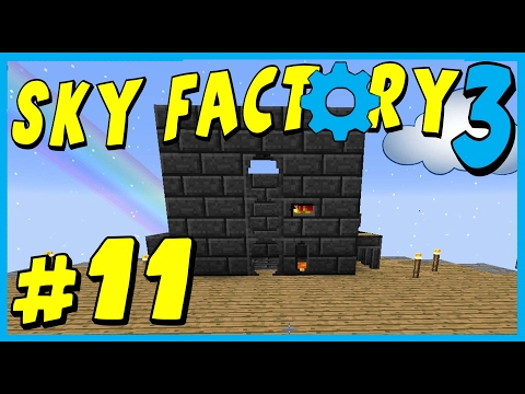 Data Play's - Sky Factory 3 - #11 - Vein Miner!