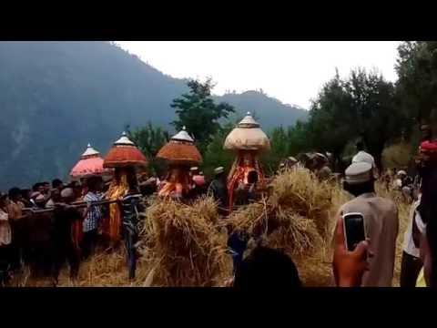 paldi valley jullai festival at banjar india