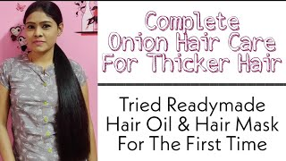 My Experience and Ideas about Readymade Hair Care Products   Onion Hair Care Routine   Tamil
