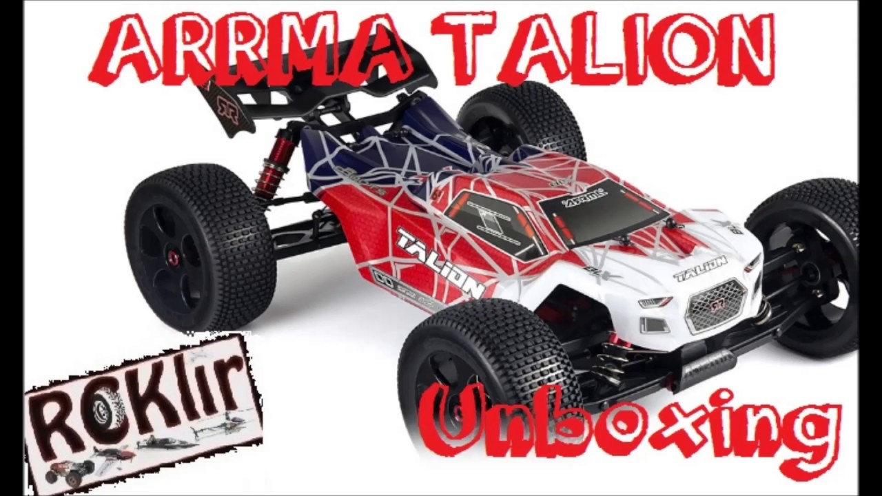 Arrma talion 6S Unboxing - Upgrade project!