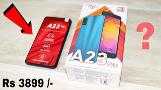 Most Affordable 4G Smartphone Unboxing amp Review itel A23 Pro
