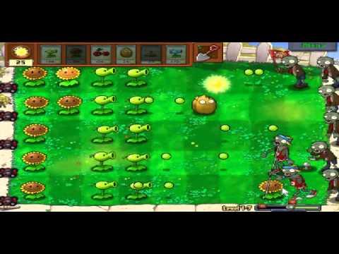Plants vs zombies (Trồng cây bắn zombie) - Cấp độ 1-7 (Game Việt Hóa)