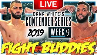 🔴 DWCS WEEK 9 SHAHBAZYAN VS ROWE + BRIGAGAO POGUES LIVE FIGHT REACTION!