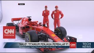 Ini Dia 'HALO' Titanium Pelindung Pembalap F1