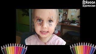 Фломастеры ☀️ Ребенок в краске ☀️ Творчество Софии