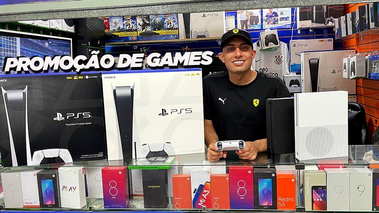 PS5 E XBOX SERIES EM PROMOÇÃO NA TOTAL GAMES SANTA EFIGÊNIA