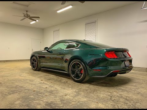 2019 Bullitt Mustang GT w/ Ford Performance Boss Style X-Pipe & Side Exhaust (M-5220-M8)