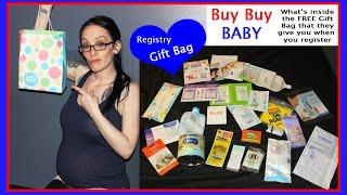 Buy Buy Baby Registry Gift Bag- What