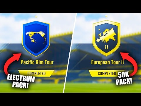 *NEW* PACIFIC RIM TOUR SBC & EUROPEAN TOUR II SBC (COMPLETED) FIFA 17 ULTIMATE TEAM
