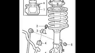 Лёха & замена тяги стабилизатора передней подвески  в Мицубиси Каризма