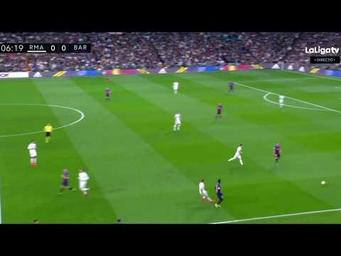 Ousmane Dembele vs Real Madrid
