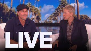 Ellen Dated Brad Pitt's Ex    Et Canada Live
