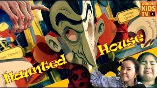공포특집! 유령의 집 아이들 haunted house pop-up book 유령의집 안에 들어간 아이들 l haunted house pop-up book