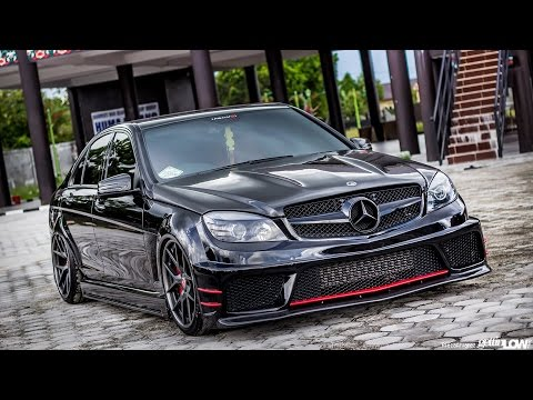 w204 tuning mercedes benz w204 youtube. Black Bedroom Furniture Sets. Home Design Ideas