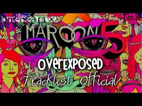Overexposed - Maroon 5 [Official Tracklist - Canciones] HD 2012