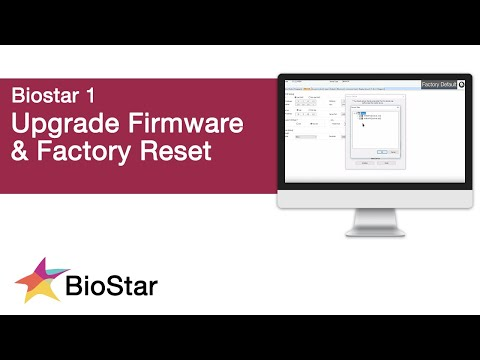 How to Upgrade Firmware and Factory Default Devices in
