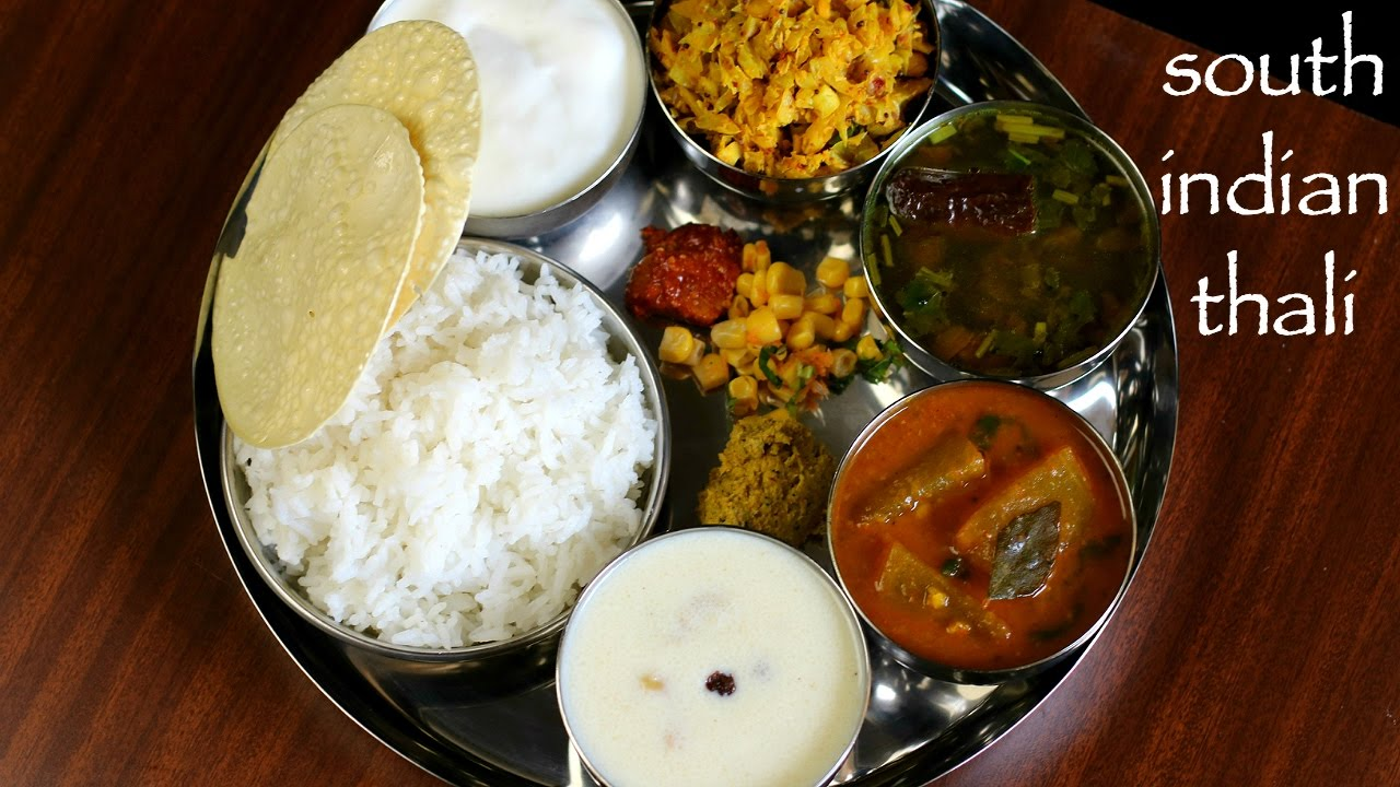 South indian thali recipe veg south indian lunch menu ideas youtube south indian thali recipe veg south indian lunch menu ideas forumfinder Choice Image