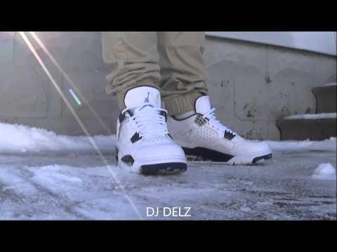 Air Jordan 4 Legend Blue Columbia IV Sneaker On Feet  + Sizing